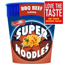 Batchelors Super Noodles Pot Bbq Beef 75G