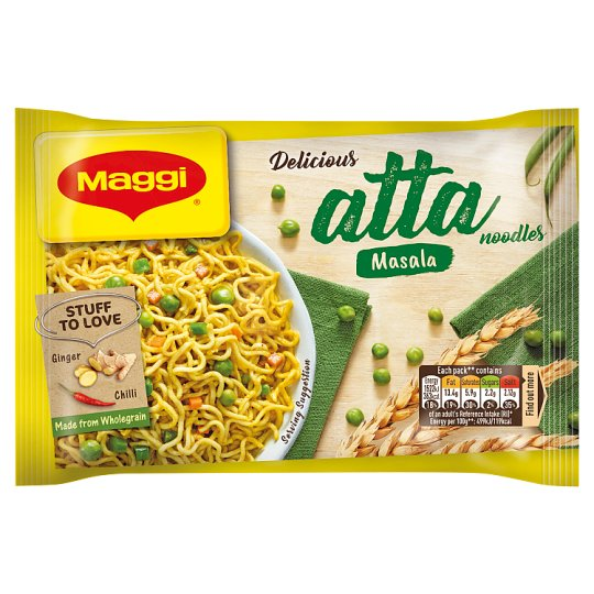 Maggi 2 Minute Vegetable Atta Noodles 75G