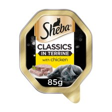 Sheba Classic In Terrine Chicken Cat Food Tray 85G