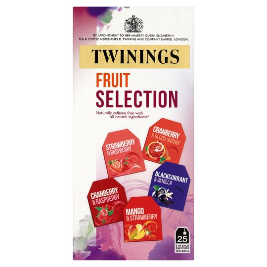 Twinings Fruit Selection Pack 25 Pack 50G