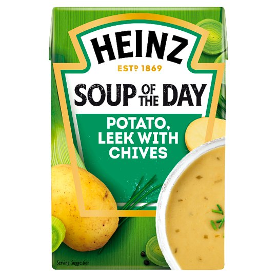 Heinz Soup Of The Day Potato And Leek Soup 400G