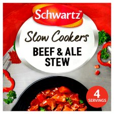 Schwartz Slow Cooker Beef And Ale Stew 43G