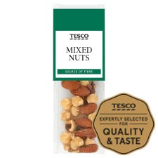 Tesco Mixed Nuts And Pecans 25G