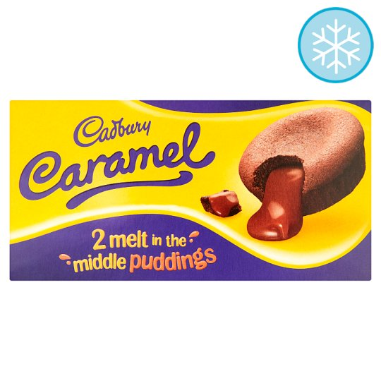 Cadbury Caramel Melt In The Middle Pudding 2 X 100G