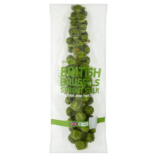 image 1 of Tesco Brussels Sprouts Stalk