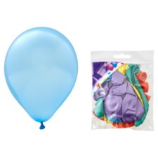 Tesco 25 Assorted Balloons Pearl