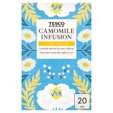 Tesco Camomile 20 Tea Bags 30G