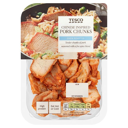Tesco Chinese Inspired Pork Chunks 180G