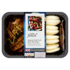 Tesco Finest Korean Style Pork Belly Bao Buns 600G
