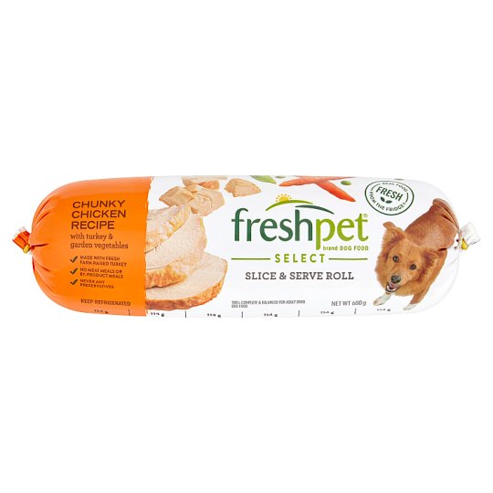 image 1 of Freshpet Chicken Vegetable Turkey And Rice Fresh Dog Food 680G
