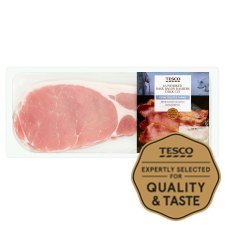Tesco Unsmoked Thick Cut Back Bacon 300G