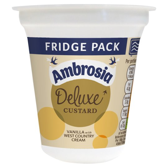 Ambrosia Deluxe West Country Custard Pot 320G