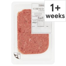 Tesco The Deli Corned Beef 4 Slices, 140 G