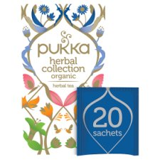 Pukka Herbal Collection 20 Tea Bags 34.4G