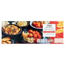 Tesco Chicken Chow Mein And Sweet & Sour Chicken Meal Box 1.32Kg