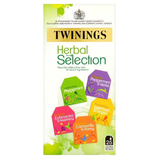 Twinings Herbal Selection Pack 25'S 50G