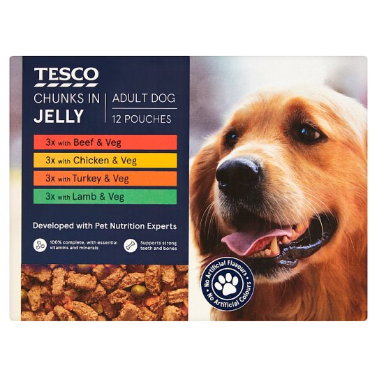 Dog Food Pouches Tesco Groceries