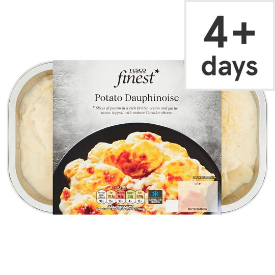 Tesco Finest Potato Dauphinoise 400G