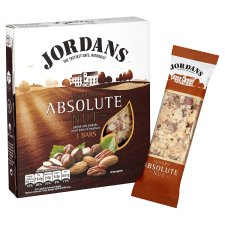 Jordans Absolute Nut Bars 3X45g