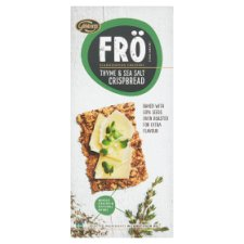 Fro Thyme And Sea Salt Crisp Bread 200G