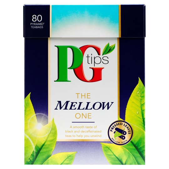 Pg Tips The Mellow One 80S Pyramid Teabags 232G