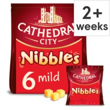 Cathedral City Cheddar Cheese Nibbles 6 X16g