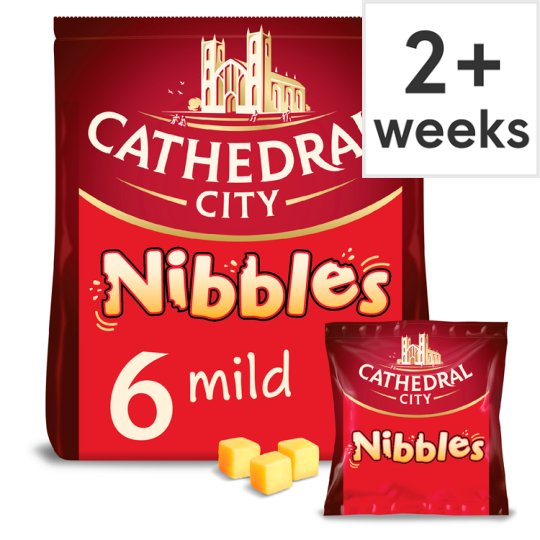 Cathedral City Cheddar Nibbles 6X16g