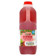 Tesco Summer Fruits Juice Drink 2 Litre