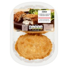 image 1 of Tesco Cheese And Bacon Breaded Chicken Kievs 2 Pack 305G