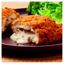 image 2 of Tesco Cheese And Bacon Breaded Chicken Kievs 2 Pack 305G