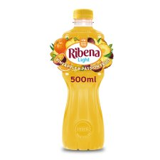 Ribena Light Pineapple And Passion Fruit 500Ml