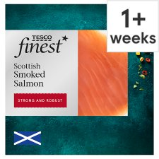 Tesco Finest Scottish Smoked Salmon 120G