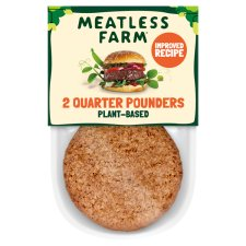 The Meatless Farm 2 Meat Free Burgers 227G