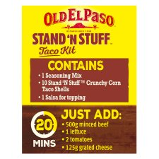 image 3 of Old El Paso Taco Stand 'N' Stuff Paprika And Garlic Kit 312G