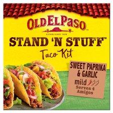 image 1 of Old El Paso Taco Stand 'N' Stuff Paprika And Garlic Kit 312G