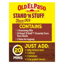 image 2 of Old El Paso Taco Stand 'N' Stuff Paprika And Garlic Kit 312G