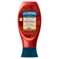 Hellmann's Ketchup With Red And Green Tomatoes 430Ml