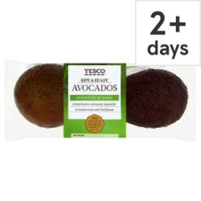 Tesco Ripe & Ready Twin Pack Avocados