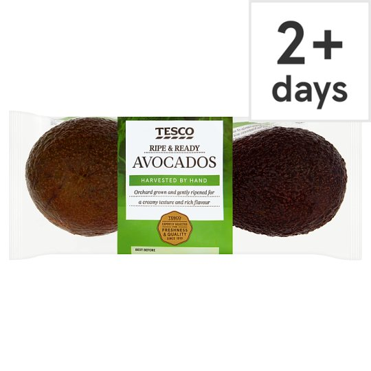 Tesco Ripe And Ready Twin Pack Avocados