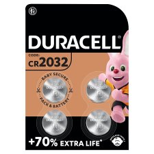 Duracell Speciality 2032 4 Pack