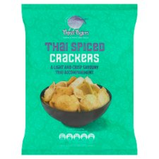 Three Tigers Thai Spiced Crackers 60G