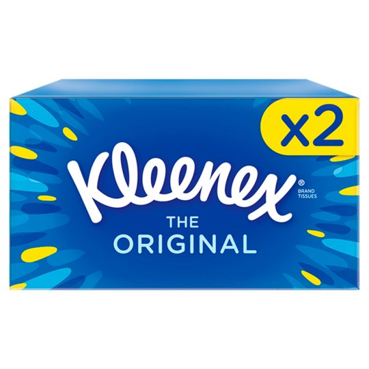 Kleenex Original Regular Tissues Twin Pack 72S