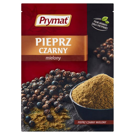 Prymat Ground Black Pepper 20G