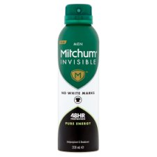 Mitchum Mens Pure Energy Antiperspirant Deodorant 200Ml