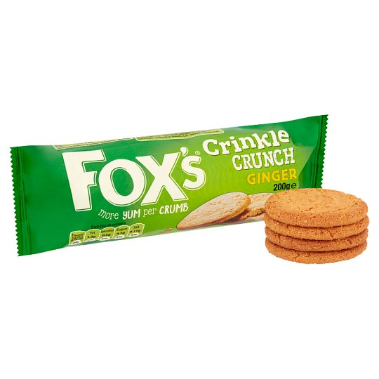 Fox's Crinkles Ginger Biscuits 200G