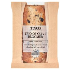 Tesco Trio Of Olive Bloomer 410G