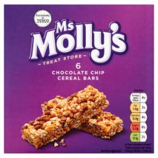 Ms Molly's Chocolate Chip Cereal Bars 126G