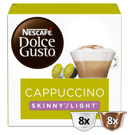 image 1 of Nescafe Dolce Gusto Cappuccino Light Coffee Pods 16 Capsules