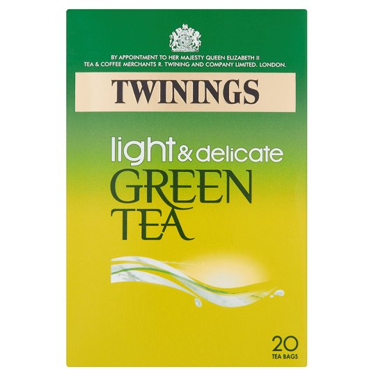 Twinings Green Light And Delicate Tea 20'S 40G