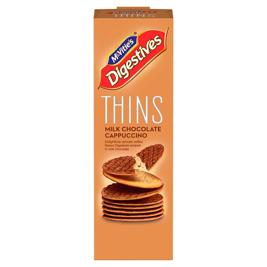 Mcvities Cappuccino Thin Biscuits 180G